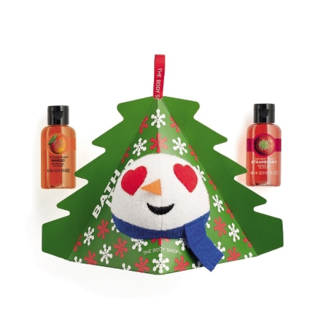 Christmas Gift Sets Body Shop.The Body Shop Malaysia Snowman Shower Gel And Sponge Gift