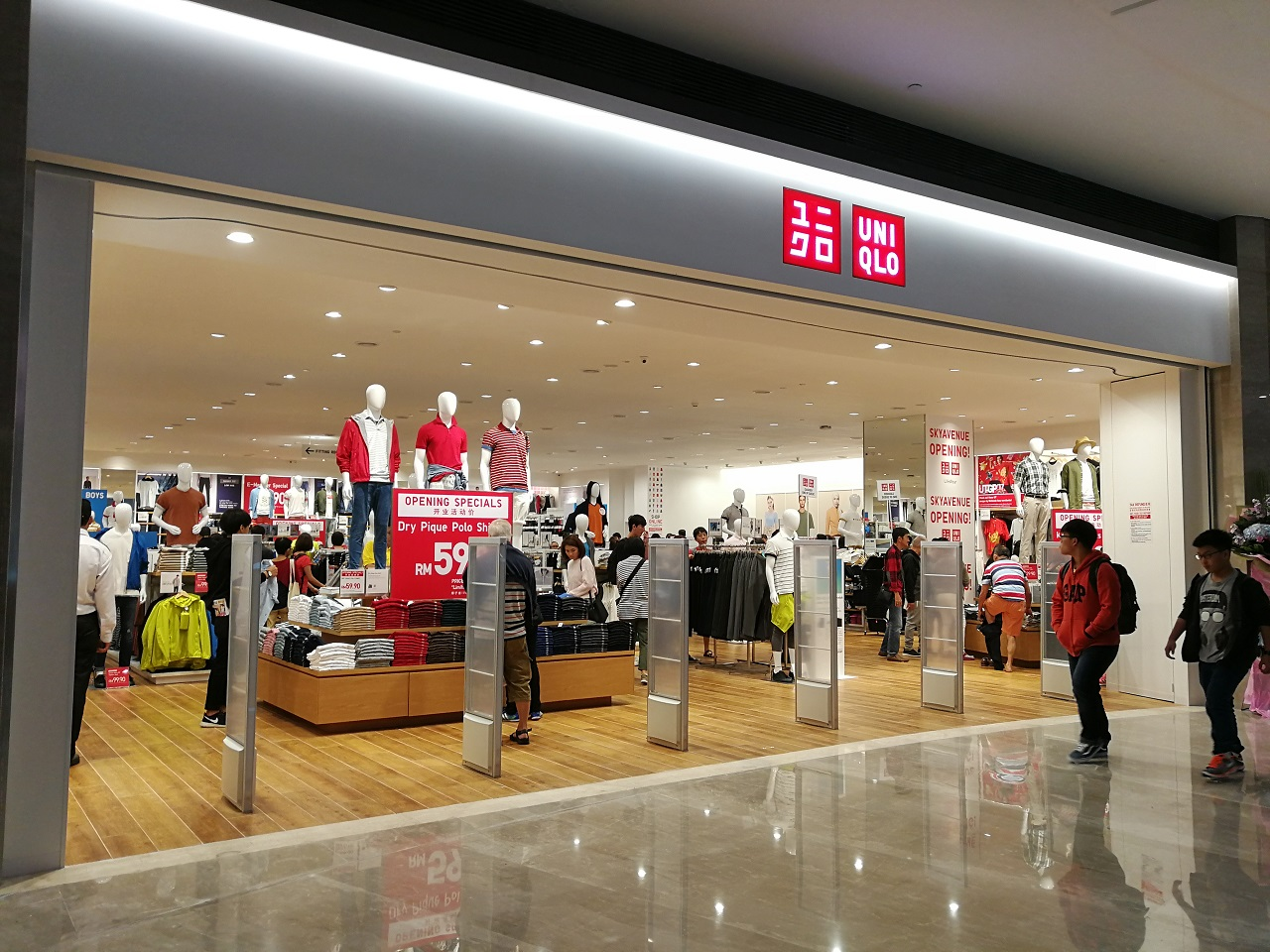 Uniqlo Malaysia Opened Its 40th Store At Sky Avenue Mall Genting