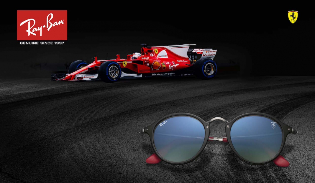 9dd940131 Ray-Ban Introduces Exclusive Eyewear Collection for Scuderia Ferrari ...
