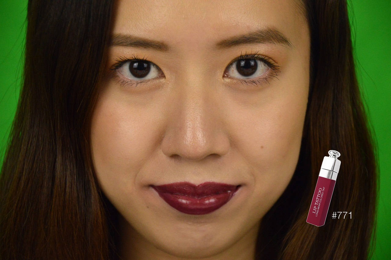 Tried Tested Dior Addict Lip Tattoo Swatches 771 Natural