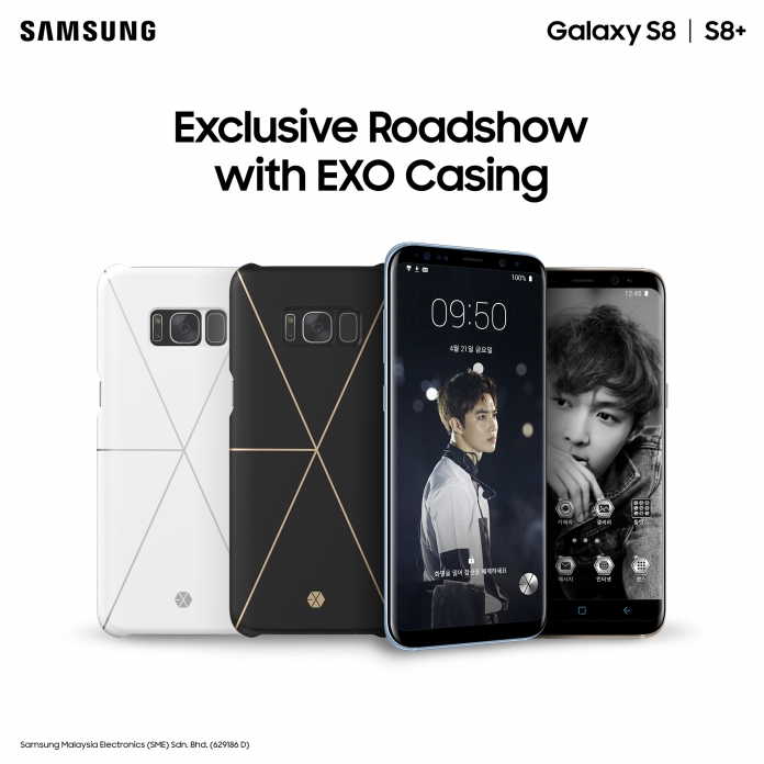 wholesale dealer dd6c9 f3b33 Get Limited Edition Samsung Galaxy Friends x EXO Phone Case at S8 ...