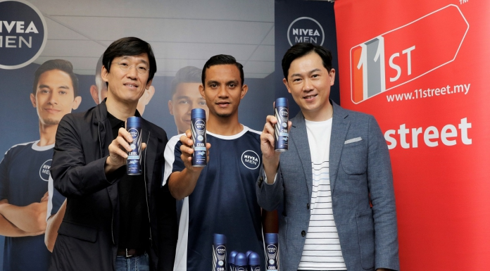 NIVEA MEN Launches Cool Powder Deodorant on 11street To Bring Out The Champion In You-Pamper.my