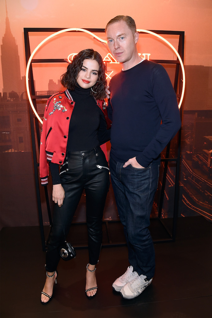 b53f39ce Selena Gomez Celebrates The Coach X Selena Gomez Collection At Coach ...