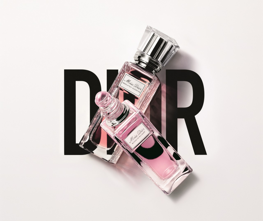 Throw In The New Miss Dior Roller-Pearl Fragrances In Your