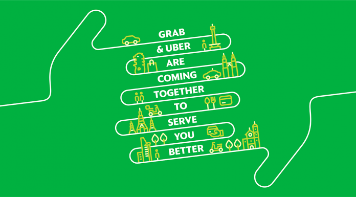 GRAB Merges With Uber South East Asia To Become One GRAB App-Pamper.my