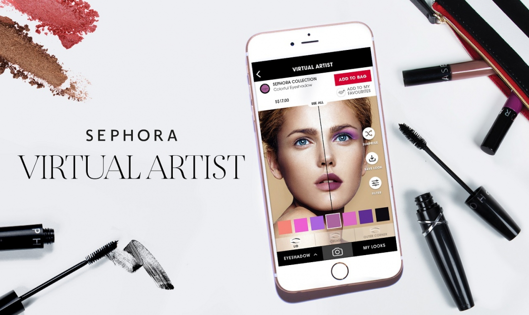 Image result for sephora visual artists app