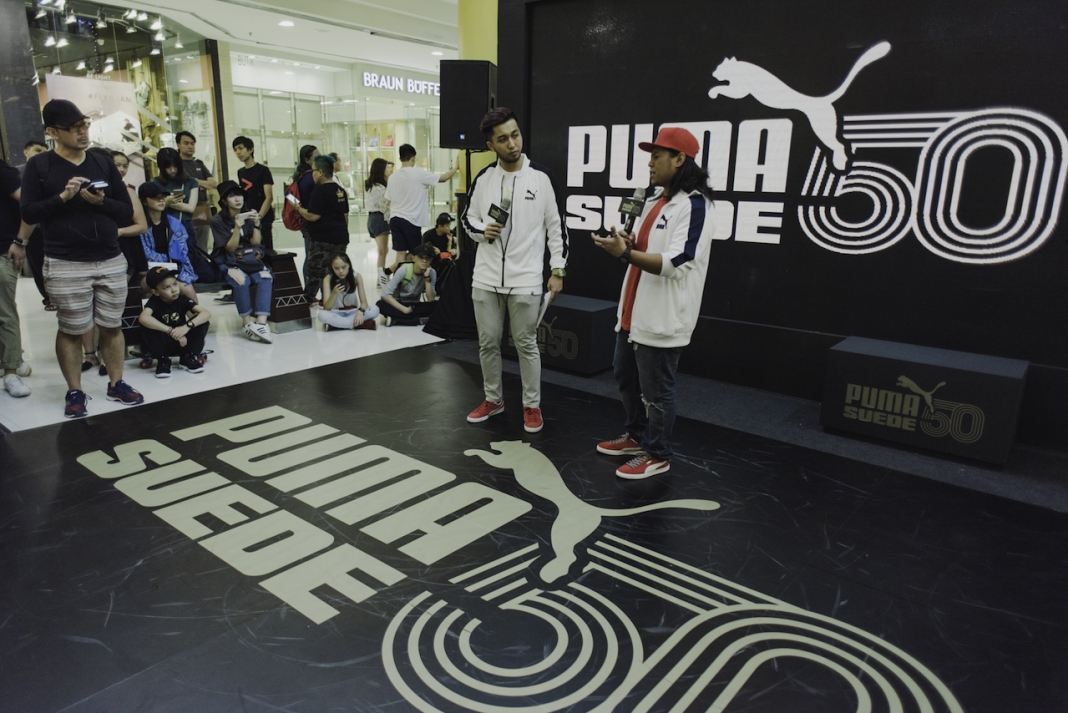 25ce8bf69 PUMA Malaysia Celebrated PUMA Suede's 50th Anniversary with 'House of  Legends'