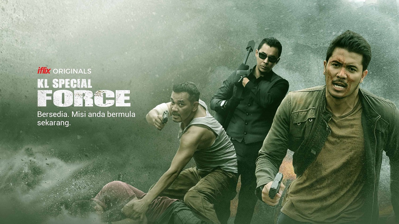 Watch Iflix S First Original Movie In Malaysia Kl Special Force