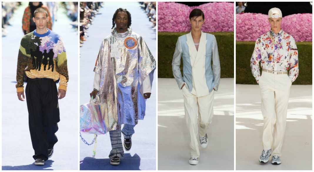 b5451dd15d1 Double Debut: Virgil Abloh for Louis Vuitton vs Kim Jones for Dior ...