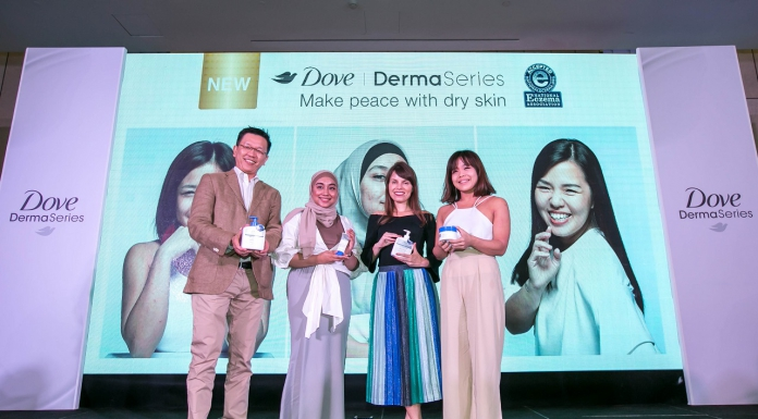 The New Dove DermaSeries Is Here To Help You Make Peace With Your Dry Skin-Pamper.my