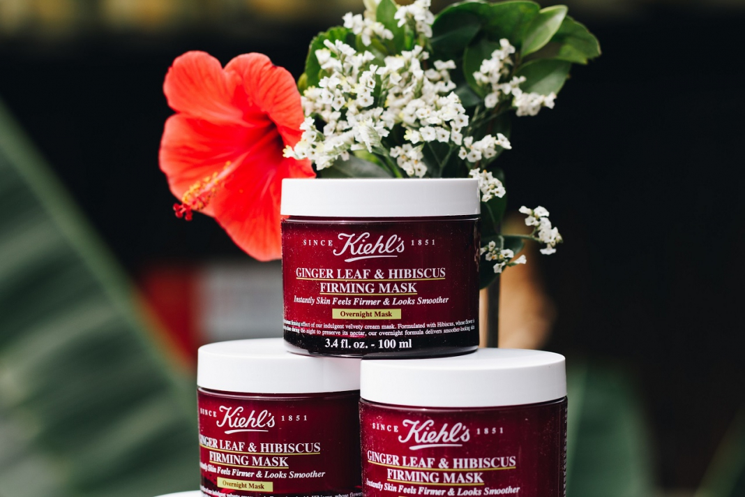 Kiehls New Ginger Leaf Hibiscus Firming Mask Is An Overnight