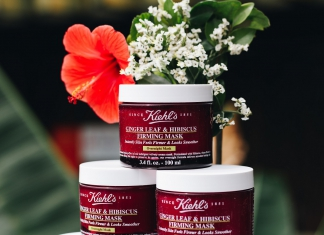 Kiehl's New Ginger Leaf & Hibiscus Firming Mask Is An Overnight Treatment You Never Knew You Needed-Pamper.my
