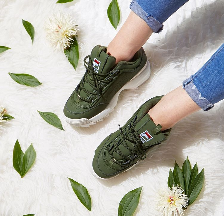Chunky Trainers Are Back In Fashion