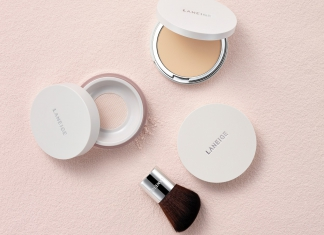 The New LANEIGE Light Fit Pact and Light Fit Powder Keeps Sebum At Bay & Makeup Intact For A Long Time-Pamper.my