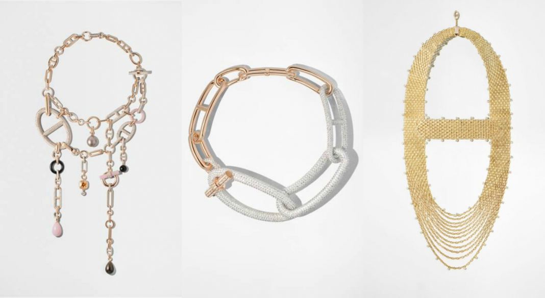 """6ad740b6c9c677 An Exclusive Look At Hermès Latest Fine Jewelry Collection """"Enchaînements  Libres"""""""
