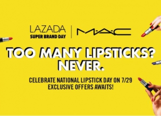 MAC Cosmetics Malaysia Is Celebrating National Lipstick Day This Sunday (29 July) Together With Lazada's First Super Brand Day With Loads Of Exclusive Offers!-Pamper.my