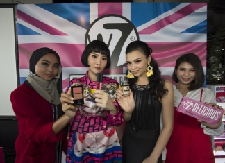 #Scenes: From London To Malaysia, W7 Cosmetics' Range Of Affordable Makeup Is Now In Selected Guardian Stores!