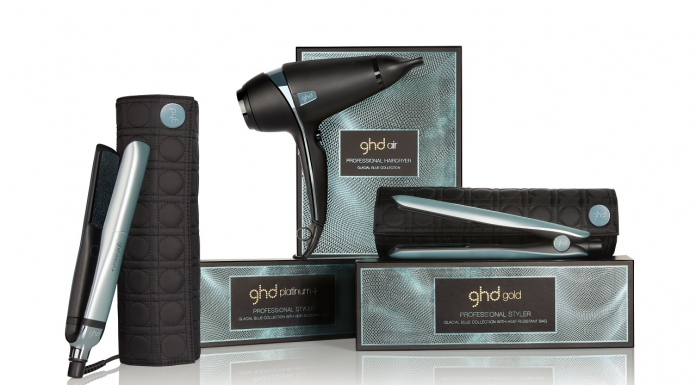 #PamperMyHoliday2018: ghd Glacial Blue Collection