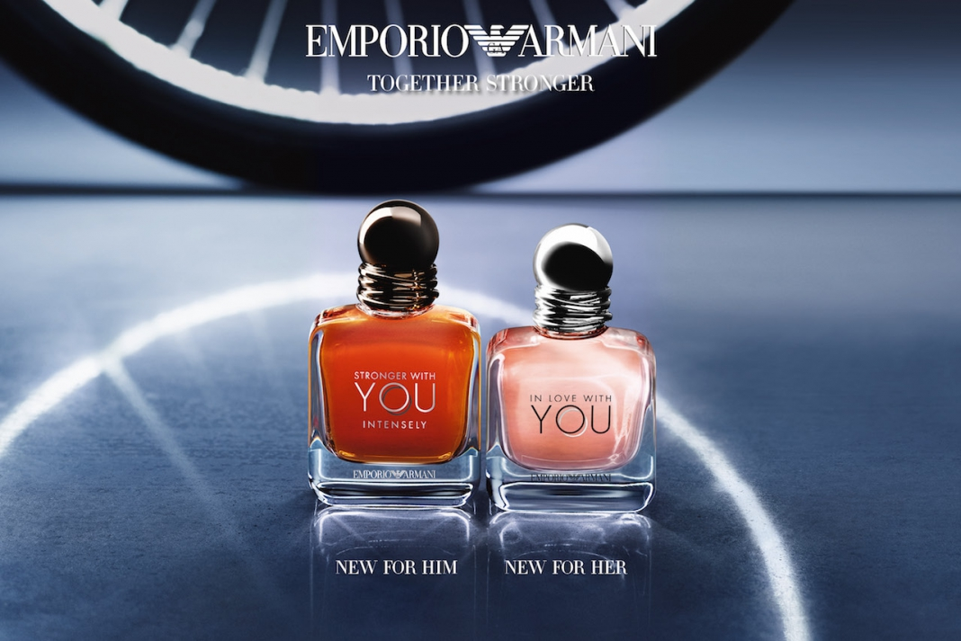 99e8b5573f #NewIn Fragrance: Giorgio Armani's In Love With You for Women and Stronger  With You Intensely for Men