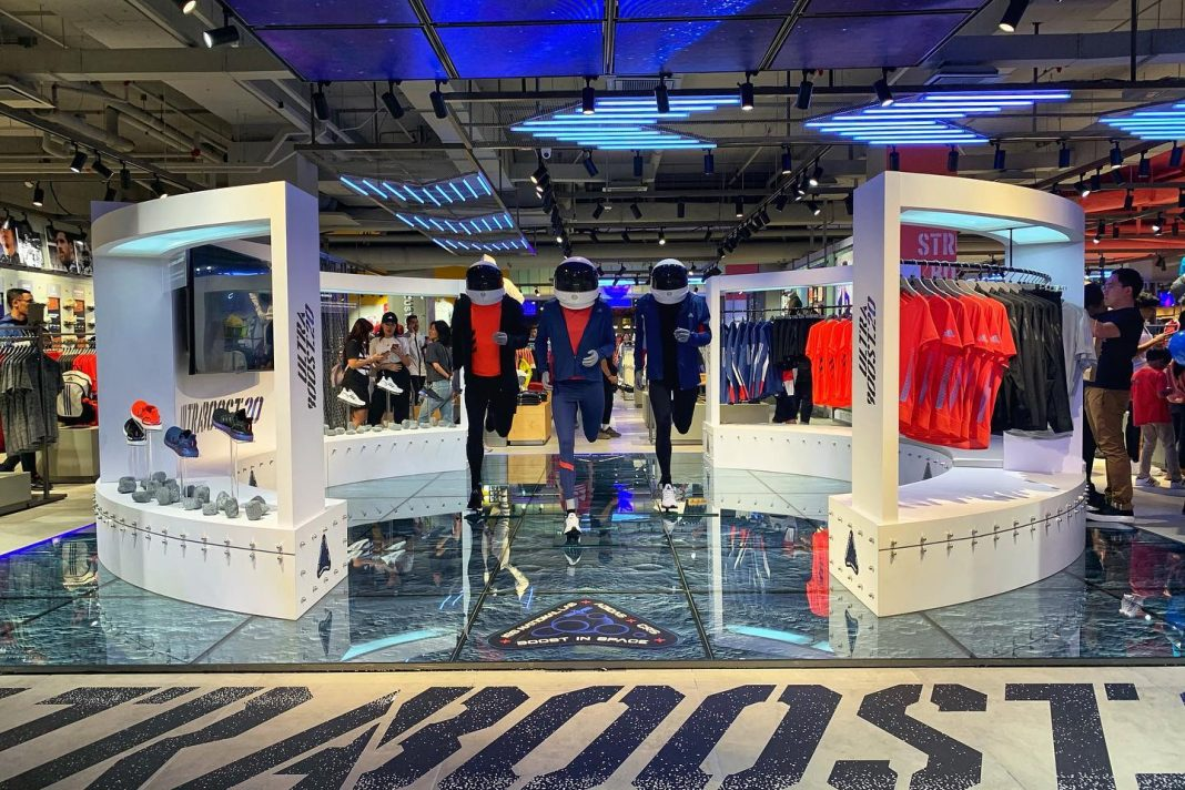 Scenes: The First Adidas Brand Centre