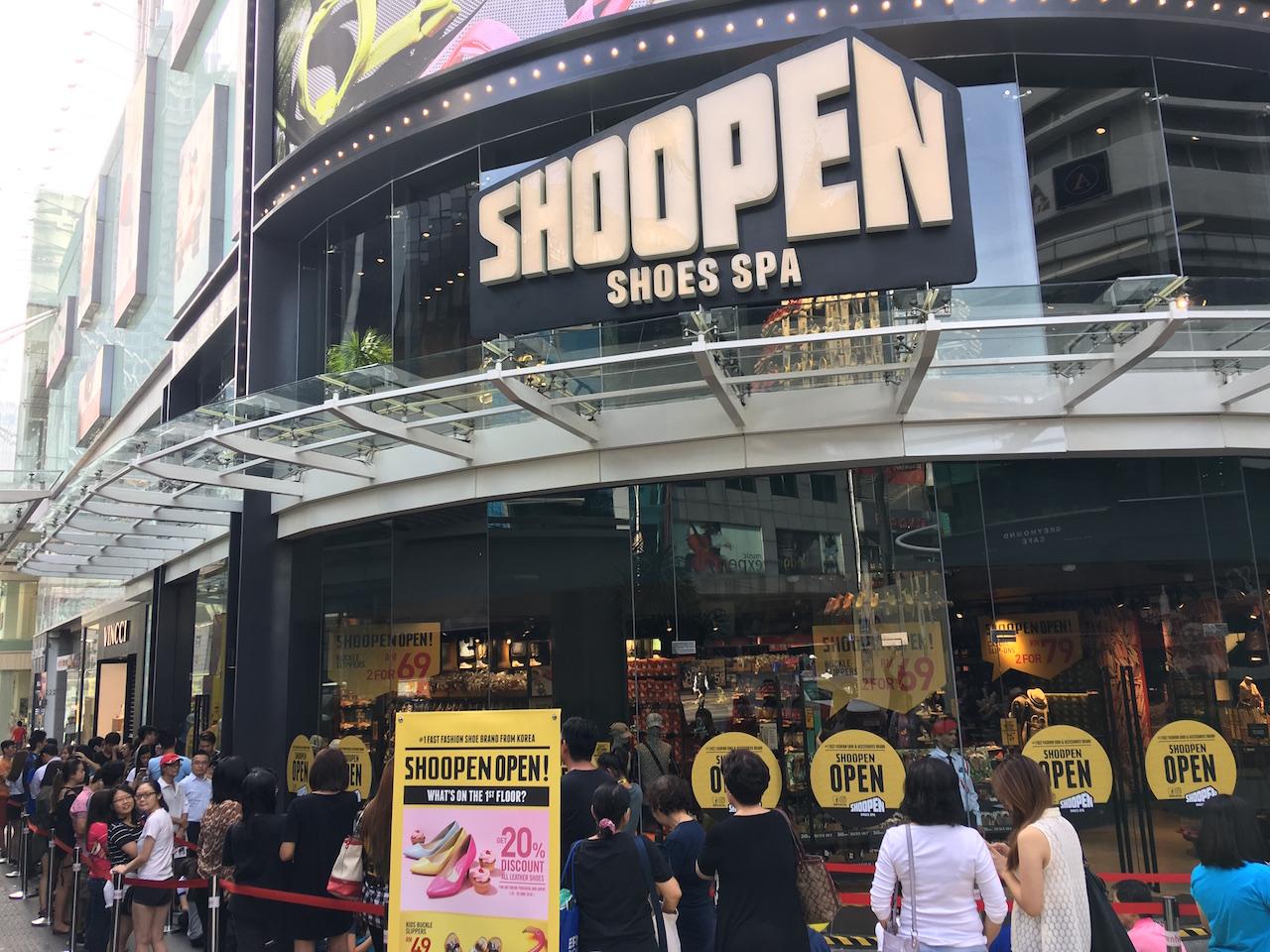 Korea's Shoe Brand SHOOPEN Store Landed in Fahrenheit 88 ...