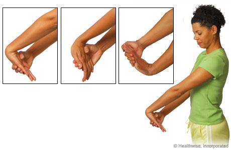 desk yogawrist stretch  pampermy